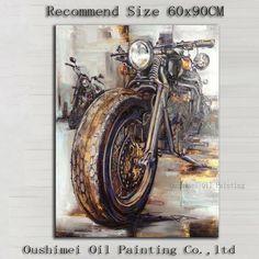 Картинки по запросу картины маслом мотоциклы