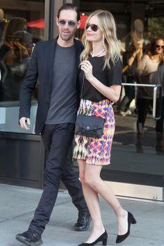 shopping inspirado en parejas famosas para el día de San Valentín: Kate Bosworth y Michael Polish
