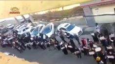 ايران – تجمع اعتراضى در جلوى زندان اوين سيماى آزادى – 26 آذر 1393  ======= Mojahedin – Iran – Resistance – Simay  Azadi -- مجاهدين – ايران – مقاومت – سيماي آزادي