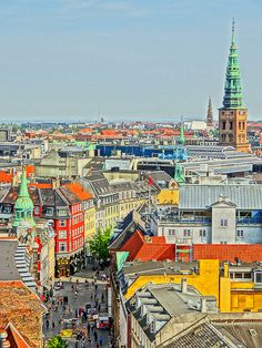 Copenhagen, Denmark. A treasure trove of art, history, architecture and modern design. Scandinavia's largest city mixes fairy tale settings like palaces, castles and elegant gardens with cutting-edge style and contemporary chic.