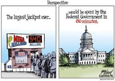 REPIN if you are appalled at the Federal Government's spending habits!