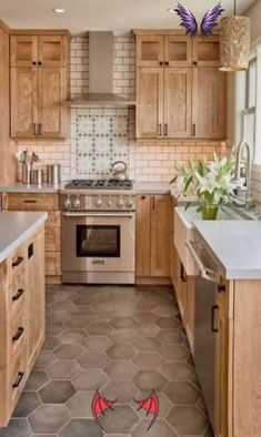 62 Ideas For Light Brown Kitchen Cabinets 62 Ideas For Light Brown Kitchen Cabinets #kitchen<br>