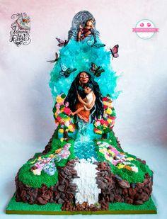 Edible Art | Primavera de Fábula: La doncella del río - Cake by Carmen