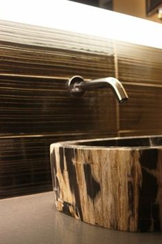 dramatic modern bathrooms - modern - bathroom - portland - bright designlab