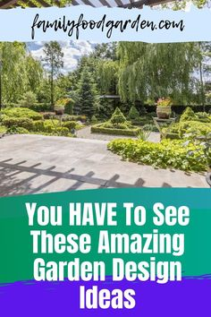When planning your garden, there are so many backyard landscaping and garden design ideas out there and it's so hard to choose. This post will help you learn how to design and sketch your garden design ideas to plan your perfect garden. You have to see these amazing garden design ideas on this pin! #gardening #gardeningtips #gardeningplans #backyardlandscaping #gardendesignideas