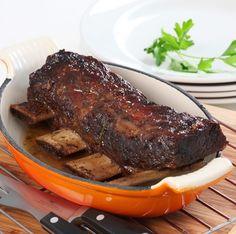 """En anglais, on l'appelle """"Jacob's ladder"""" ou également """"Short ribs beef"""", un grand classique de la cuisine américaine.  Le plat de cote de boeuf peut être"""