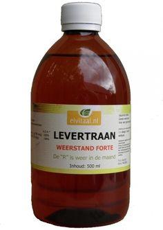Elvitaal Levertraan 500ml grrrrr...iedere dag weer een lepel voor je gezondheid !!