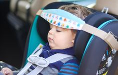 Comfy & Safe Car Seat Sleep with Slumber Sling - Daily Mom Baby Pillows, Kids Pillows, Baby Head Support, Car Accessories Diy, Creation Couture, Baby Safety, Baby Hacks, Baby Sewing, Sewing Tutorials