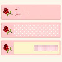free printable pink faux vintage rose tags – ausdruckbare Geschenkkärtchen – freebie | MeinLilaPark – DIY printables and downloads