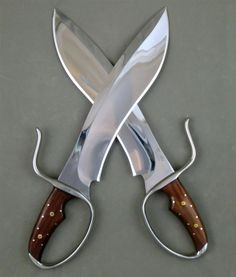 Randall Sasquatch-Style Wing Chun Butterfly Swords