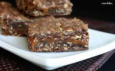 Oatmeal Brownie Milky Way Bars http://iambaker.net/oatmeal-brownie-milky-way-bars