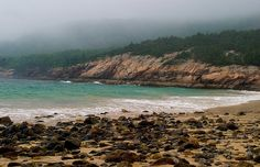 Sand Beach, Acadia Park, Bar Harbor, Maine