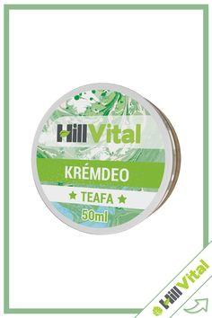 Természetes összetételű izzadásgátló krémdeo, teafa illóolajjal.  Kiszerelés: 50ml