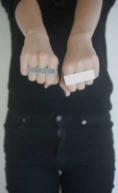 Inspire Me: DIY Three Finger Rings full tutorial of awesomeness!