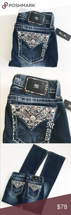 """Miss me bootcut jeans New with tag. Length 34"""". 98% cotton 2% elastane. Price is firm. No trades 🌹 Miss Me Jeans Boot Cut"""