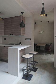 Деревянная квартира в Москве от Петра Костелова