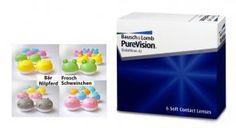 PureVision 6 Stück + Bonasse Qcase 3D