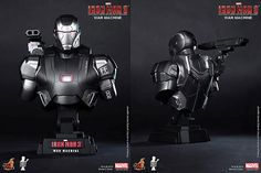 War  Machine - Iron Man 3 - hot toys
