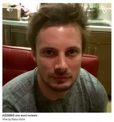 Bradley James - During Damien filming in Toronto.