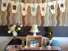 Baby Boy Shower!