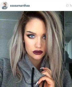 grey blonde hair - Google Search