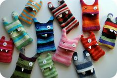 Daily Swoon: Stripey Monster iPod Cozies