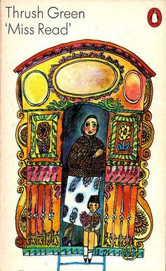 Miss Read, Thrush Green, Penguin 1967. Cover by Jannat Houston.