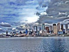 Seattle WA Skyline