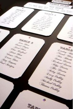 Black and white calligraphy seating plan. More wedding calligraphy ideas at… Purple Wedding, Trendy Wedding, Wedding Colours, Wedding Blog, Wedding Ideas, Wedding Stuff, Wedding Reception, Dream Wedding, Reception Ideas
