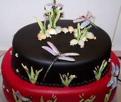 dragonfly wedding | Dragonfly Wedding Cake | Flickr - Photo Sharing!