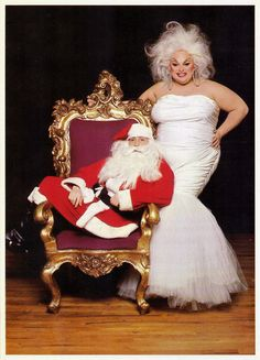 A sackful of holiday greetings from Divine, Edie the Egglady & Miss Jean Hill (NSFW) | Dangerous Minds