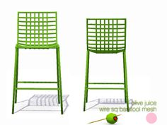 Wire Sq Bar Stool Mesh by DOT of The Sims Resource  Found in TSR Category 'Miscellaneous'