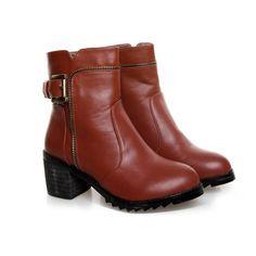 Femme Bloc Talon À Enfiler Perles Slouch Hiver Chaussures Bottes Hautes Vogue NEUF