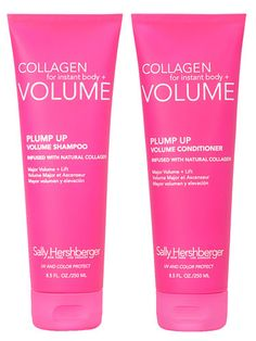 This volumizing shampoo and conditioner is packed with natural ingredients!
