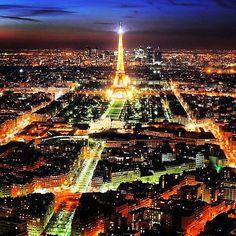 #Paris #France - #Eiffel Tower