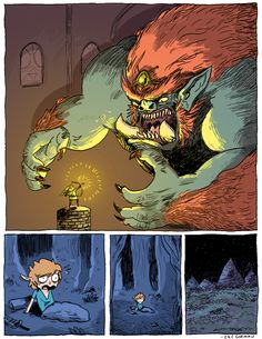 The Legend of Zelda ☆*:.:*☆ On the 1986 Legend of Zelda you play the Quest, only to defeat Ganon and realize the whole thing was a dream curse, and now you gotta play the Second Quest The Legend Of Zelda, Nintendo 3ds, Steampunk, Zelda Breath, Fan Art, Twilight Princess, Breath Of The Wild, Video Game Art, Illustrations