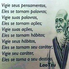 Pra começar a tarde...                                                                                                                                                     Mais Verse, Good Vibes, Positive Vibes, Sentences, Life Lessons, Self, Inspirational Quotes, Wisdom, Positivity