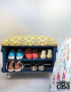 Revista MinhaCASA - Faça você mesmo: doze ideias de móveis feitos com paletes e caixotes