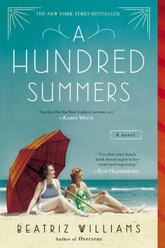 A HUNDRED SUMMERS by Beatriz Williams -- As the 1938 hurricane approaches Rhode Island, another storm brews.