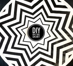DIY: Duct Tape Skirt this would make an awesome rug