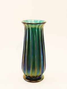 """Material: Murano Glass, Dimensions: 3.5""""Dia x 9.5""""H Made by Archimede Seguso"""