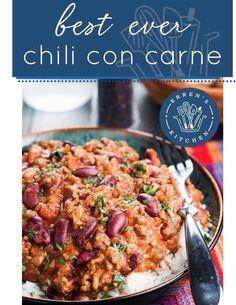Minced Beef Recipes, Mince Recipes, Chilli Recipes, Mexican Food Recipes, Ethnic Recipes, Kitchen Recipes, Cooking Recipes, Healthy Recipes, Batch Cooking
