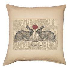 Bunny Love Pillow