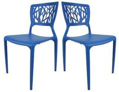 Viento Chair - Set of Two(2) - Blue