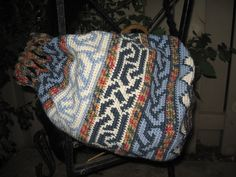 Tapestry Crochet Market Bag by Suzanne Pennell