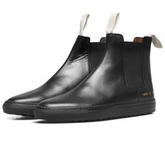 5b79f7cc061b Love this  Black Leather Trek Chelsea Boots  Lyst Common Projects Chelsea  Boots