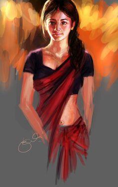 Kisi Shayar ki ghazal..... - Digital Art by Kiran Kumar in Digital Paintings at touchtalent 9050