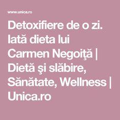 Detoxifiere de o zi. Iată dieta lui Carmen Negoiţă   Dietă şi slăbire, Sănătate, Wellness   Unica.ro Health Fitness, Recipes, Food, Smoothie, Silhouettes, Exercise, Eten, Recipies, Smoothies