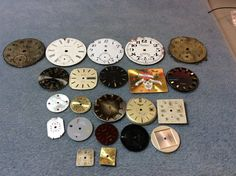 Free US shipping real steampunk watch faces 22 by mkpdestash