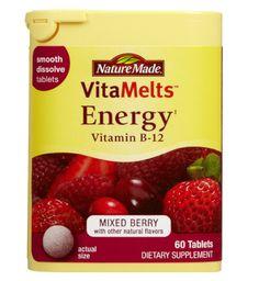 Deskside remedies: NatureMade VitaMelts Energy Tablets